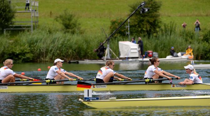 Erste Starts in Luzern für das Team Frauenachter