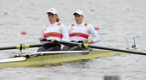 Sophie Paul und Ulrike Törpsch im Zweier