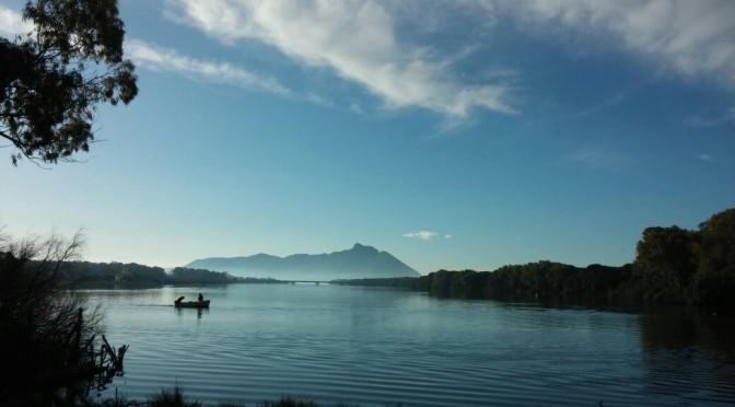 Raus aus der Lagune – rein in den Kanal