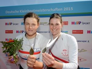 Michaela Schmidt und Ronja Schütte