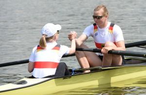 Seit Posen Schlagfrau im Frauenachter: Kerstin Hartmann mit Steuerfrau Laura Schwensen am Start in Posen