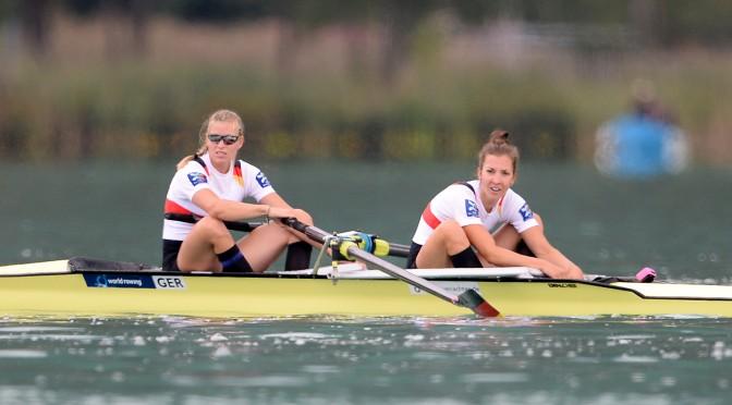 Olympia-Ticket für den Zweier gelöst: Kathri Marchand und Kerstin Hartmann